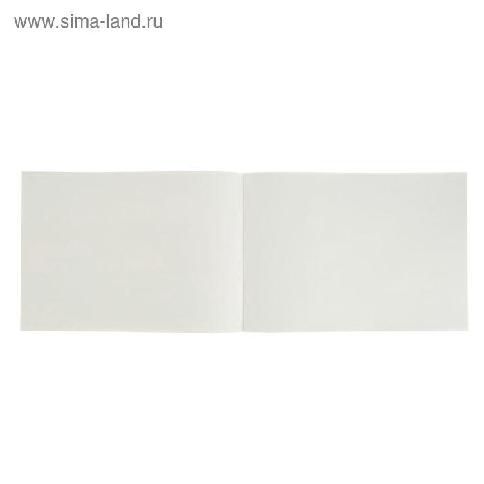 Альбом для рисования А4, 8 листов на скрепке «Тачки и пальмы», обложка картон 185 г/м2, блок офсет 100 г/м2