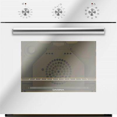 Духовой шкаф Darina 1U BDE 111 707 W, электрический, 50 л, гриль, белый - Фото 1