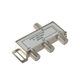 Сплиттер 'Сигнал' 3-WAY, 5-1000 МГц, 3 ТВ Ош