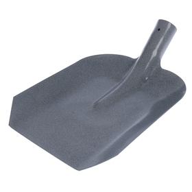 Лопата совковая, стальная, тулейка 40 мм, без черенка, МИКС