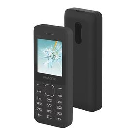 Сотовый телефон Maxvi C20 Black, без СЗУ в комплекте Ош