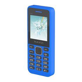 Сотовый телефон Maxvi C20 Blue, без СЗУ в комплекте Ош