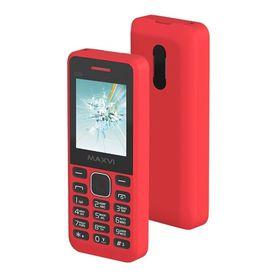 Сотовый телефон Maxvi C20 Red, без СЗУ в комплекте Ош