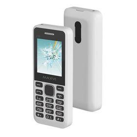Сотовый телефон Maxvi C20 White, без СЗУ в комплекте Ош