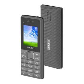 Сотовый телефон Maxvi C9 Grey Black