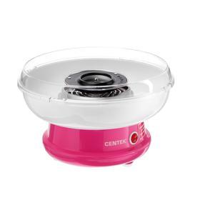 Аппарат для приготовления сладкой ваты Centek CT-1445, 400 Вт, розовый