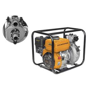 Мотопомпа Carver CGP 3050 H, 4Т, 5.2 кВт/7 л.с., 210 м3, 30 м3/час, глубина 7 Ош