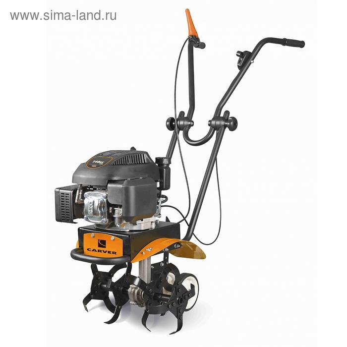 Мотокультиватор CARVER T-400, 4Т, 2.4 кВт, 3.3 л.с., глубина/ширина 22/38 см