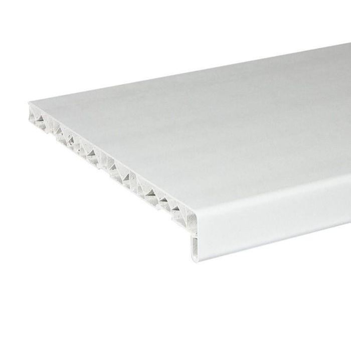 Подоконник ПВХ,белый, 1500х550 мм