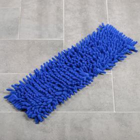 Насадка для плоской швабры ВОТ «Синель», 40×12 см, цвет синий