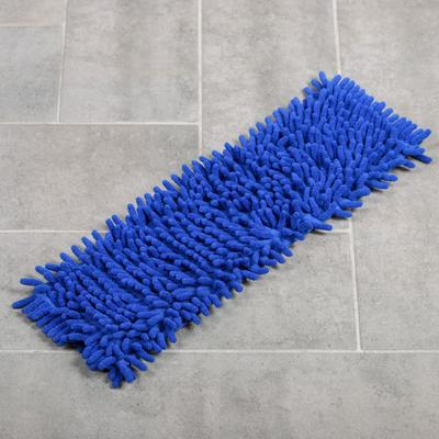 Насадка для плоской швабры «Синель», 40×12 см, цвет синий - Фото 1