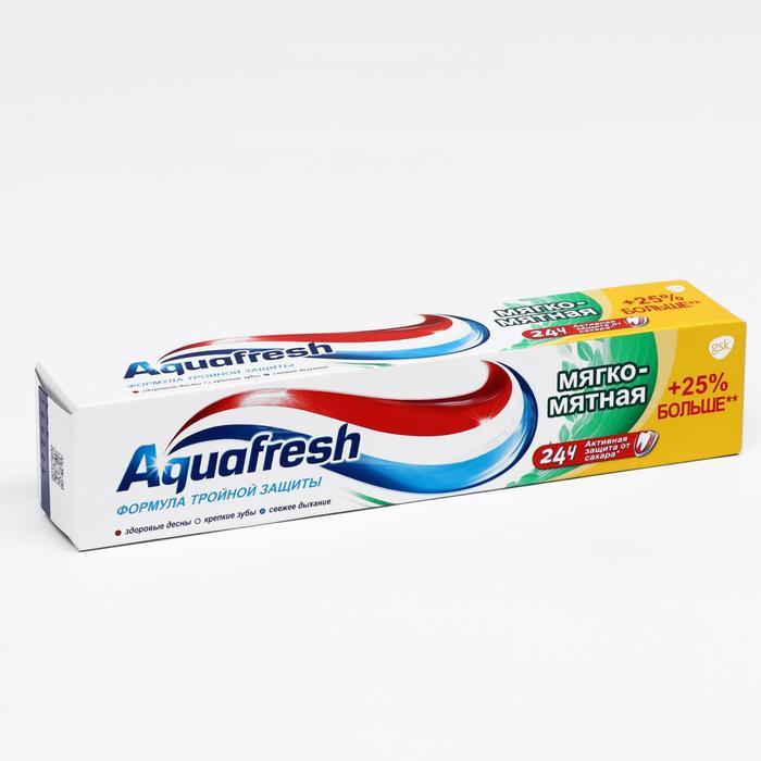 Зубная паста Aquafresh Тотал «Мятная», 125 мл