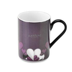 Набор кружек Lover by Lover, цвет фиолетовый, 0.3 л, 2 шт.
