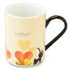 Набор кружек Lover by Lover, цвет желтый, 0.3 л, 2 шт.