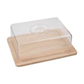 Доска разделочная с пластиковой крышкой