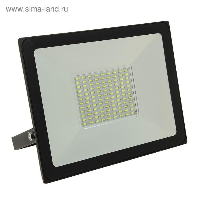 Прожектор светодиодный LLT СДО-5-100 PRO, 100 Вт, 230 В, 6500 К, 8000 Лм, IP65