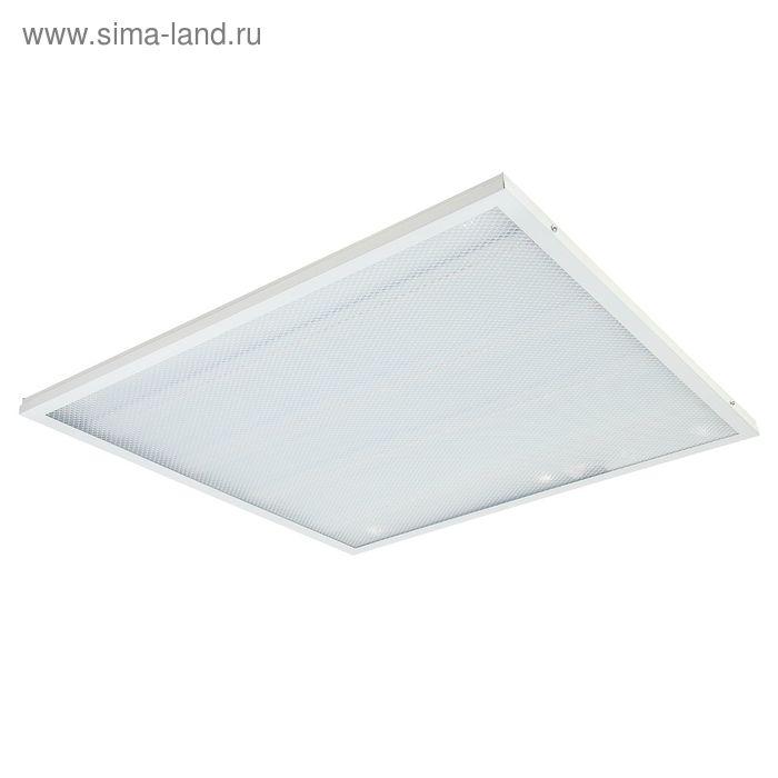 Панель светодиодная LLT LPU-ПРИЗМА-PRO, 36 Вт, 2800 Лм, 4000 К, IP40, 230 В, 595х595х19 мм