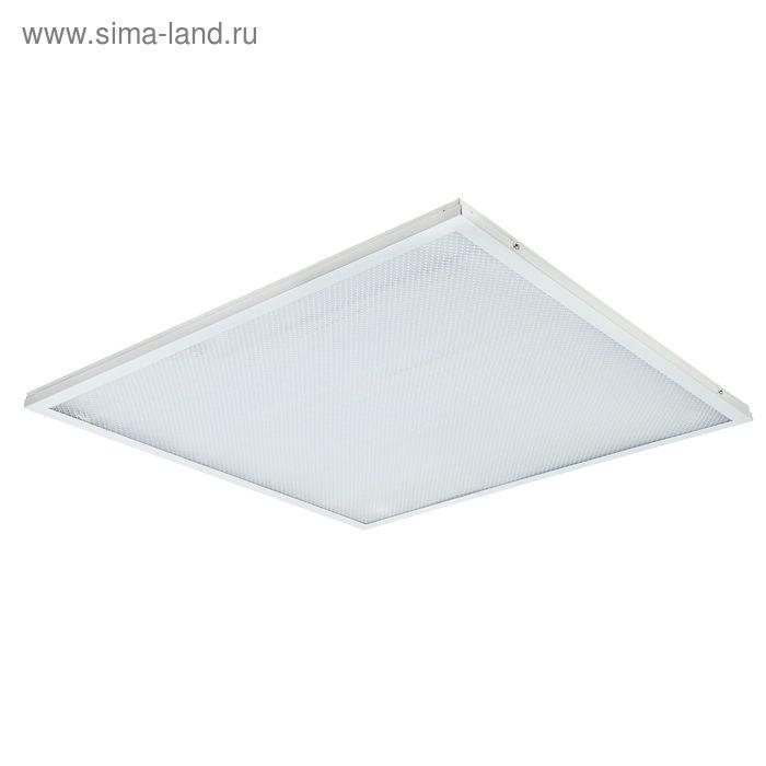 Панель светодиодная LLT LPU-ПРИЗМА-PRO, 36 Вт, 2800 Лм, 6500 К, IP40, 230 В, 595х595х19 мм