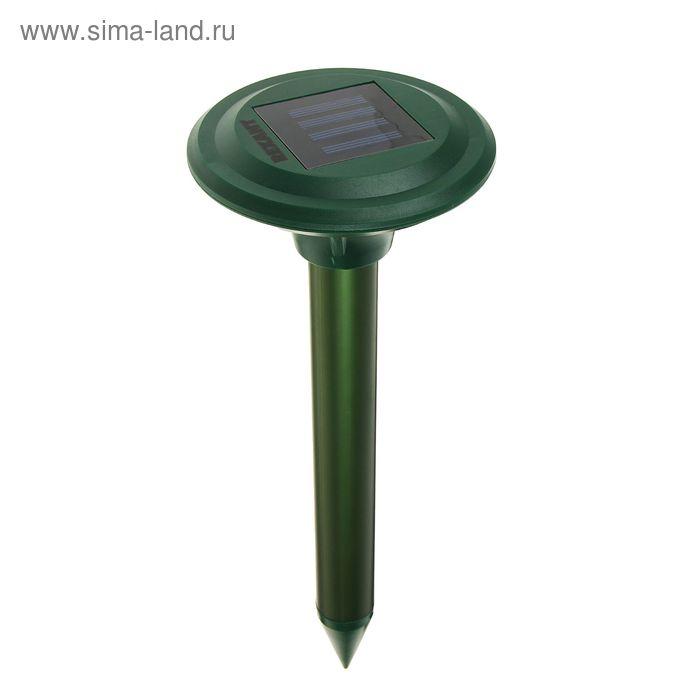 Отпугиватель кротов Rexant 71-0007, ультразвуковой, на солнечной батарее, 30 м