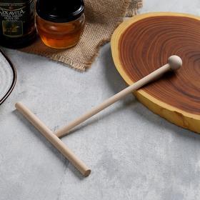 Палочка/ лопатка для приготовления блинов большая, д=16 см, ручка 22 см Ош