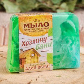 Косметическое мыло в баню 'Хозяину бани', ручная работа Ош