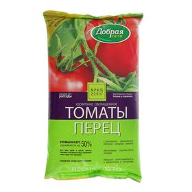"""Удобрение открытого грунта Добрая Сила """"Томаты-Перец"""", 0,9 кг"""