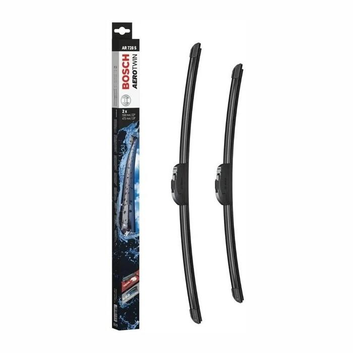 Bosch 3397118904 Щётки стеклоочистителя ATW 550/475 AR728S 3397118904