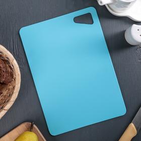 Доска разделочная гибкая ИскраПласт, 17х24 см, толщина 2 мм, цвет МИКС