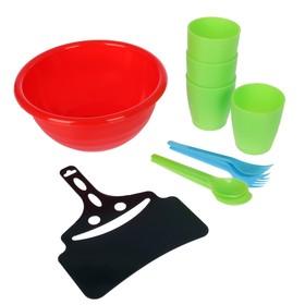 Набор посуды на 4 персоны Ош