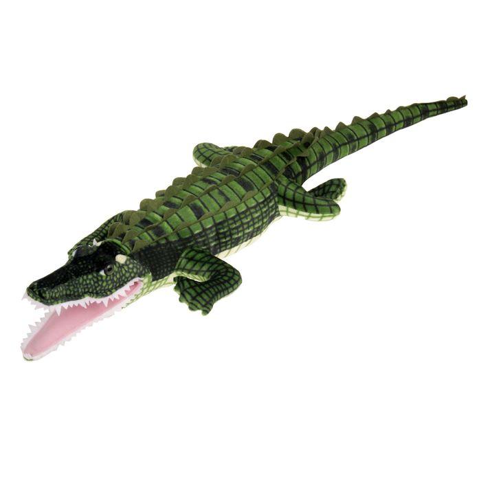 Мягкая игрушка Крокодил, цвет зелёный