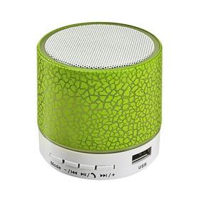 Портативная колонка LuazON LAB-04, с подсветкой, Bluetooth, USB, microSD, microUSB, МИКС Ош