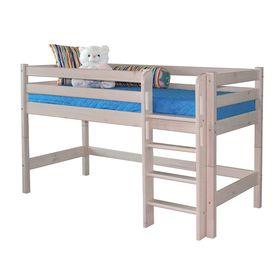Низкая кровать Соня с прямой лестницей Вариант 11 Ош