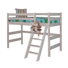 Полувысокая кровать Соня с наклонной лестницей Вариант 6 Ош