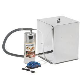 Коптильня холодного копчения 'Дым Дымыч' 02М, дымогенератор, 32 л, серебристая Ош
