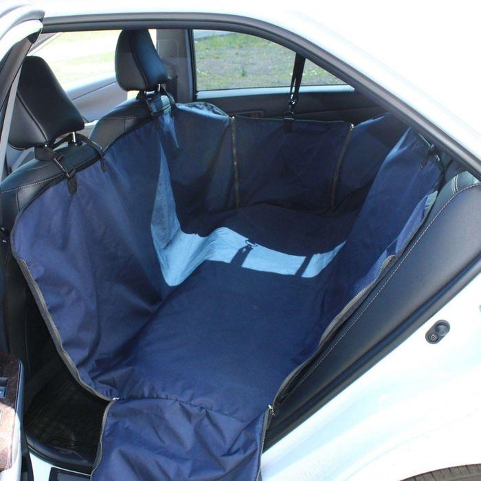 """Автогамак Tplus """"Стандарт"""", оксфорд, синий, T002203"""