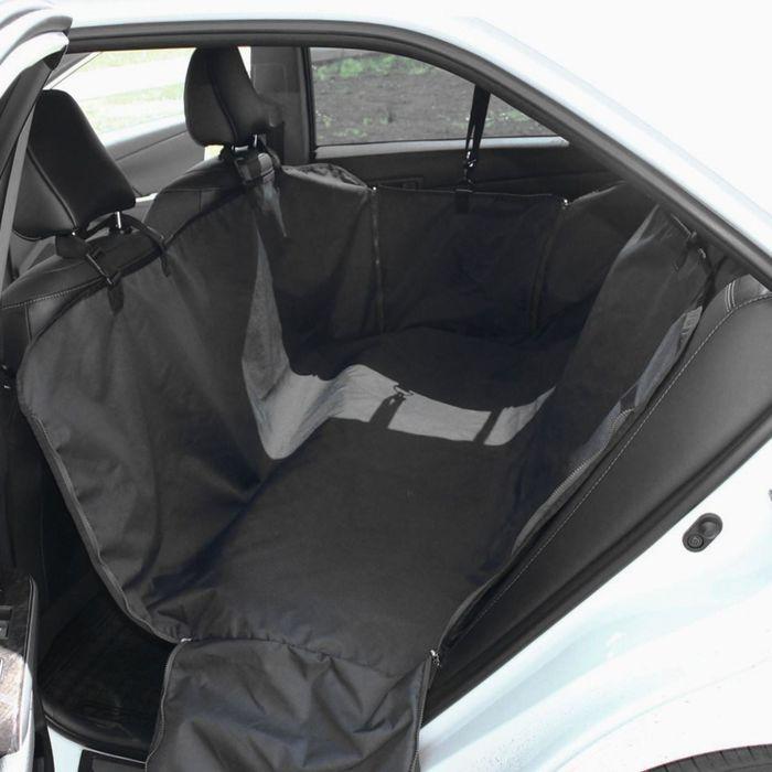 """Автогамак Tplus """"Стандарт"""", оксфорд, черный, T002205"""