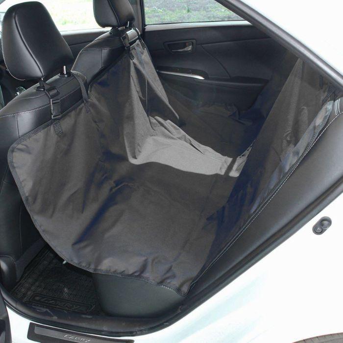 Авточехол-накидка на заднее сиденье Tplus, оксфорд, черный , T002206