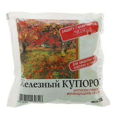 Антисептик Железный Купорос, пакет, 200 г