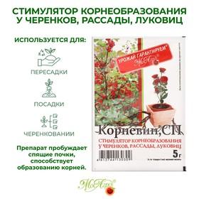 Стимулятор корнеобразования Корневин, порошок, 5 г