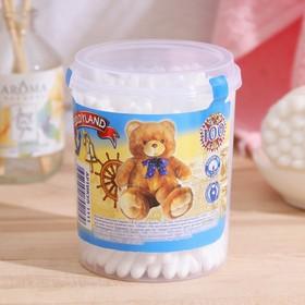 Ватные палочки Teddyland, 100 шт. в стакане
