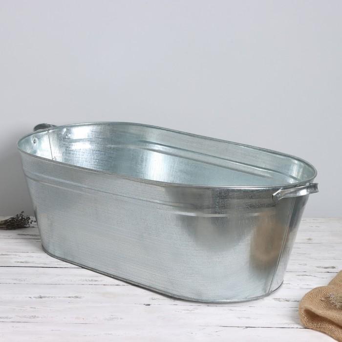 Ванна оцинкованая хозяйственная, 60 л