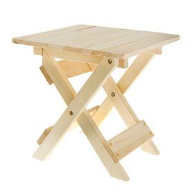 Столик к лежаку складной 50 х 42 х 40 см Ош