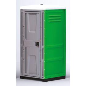 Туалетная кабина, жидкостная, разборная, 225 × 100 × 100 см, 250 л, зелёная Ош