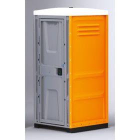 Туалетная кабина, жидкостная, разборная, 225 × 100 × 100 см, 250 л, оранжевая Ош