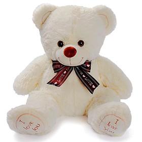 Мягкая игрушка «Медведь Феликс», 70 см, цвет молочный, МИКС