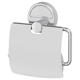 Держатель туалетной бумаги с крышкой, хром, FBS