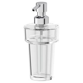 Дозатор жидкого мыла, хрусталь, ELLUX