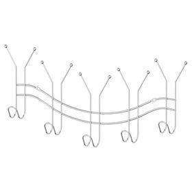 Планка с пятью двойными крючками-вешалками 50,5 см, хром, SORCOSA