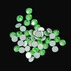 Стразы для декора, 1,3 мм, цвет светло-зелёный