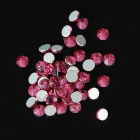 Стразы для декора ногтей, 1,3 мм, цвет розовый Ош
